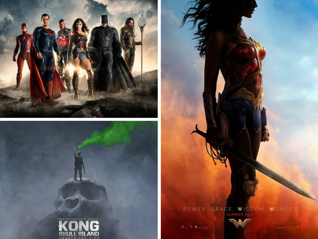 The Best New Trailers from San Diego Comic Con:  Wonder Woman, Kong:  Skull Island, & JUSTICE LEAGUE!